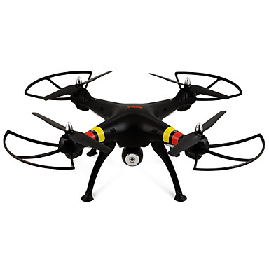 RC Drone SYMA X8W 4CH 6 Axis 2.4G With HD Camera 2.0MP 2.0MP RC Quadcopter FPV Headless Mode 360°Rolling Access Real-Time Footage With
