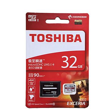 Toshiba 32GB Micro SD-kort TF kort minnekort UHS-I U1 Class10 EXCERIA