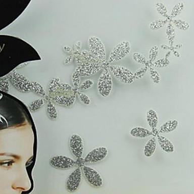 metallisk kvinder papir guld / sølv til hår tatovering klistermærker