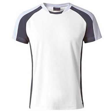 Herrn T-Shirt für Wanderer Außen Atmungsaktiv Schweißableitend T-shirt Oberteile Camping & Wandern Klettern Freizeit Sport Radsport /