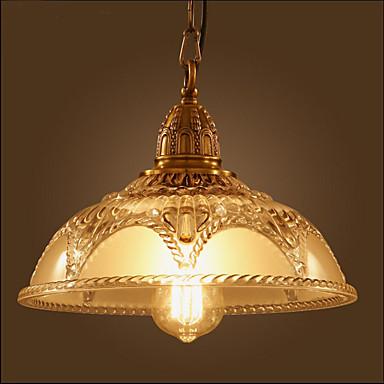 Retro Pendelleuchten Glühbirne nicht inklusive 110-120V 220-240V Ministil Deckenfluter