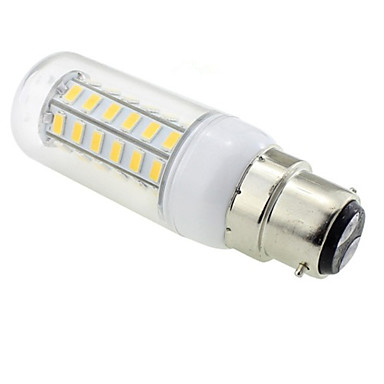 E14 G9 GU10 E12 B22 LED Λάμπες Καλαμπόκι T 48 SMD 5730 600 lm Θερμό Λευκό AC 220-240 V