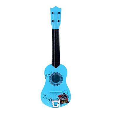 abs narancs / rózsaszín / kék / barna szimuláció gyermek gitár gyerekeknek hangszerek játék