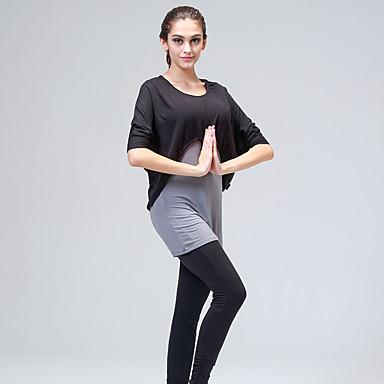 יוגה אימונית נושם / ללא חשמל סטטי / תומך זיעה גמישות גבוהה בגדי ספורט לנשים-ספורטיבי,יוגה / פילאטיס / מחנאות וטיולים / טקוונדו / רכיבה על