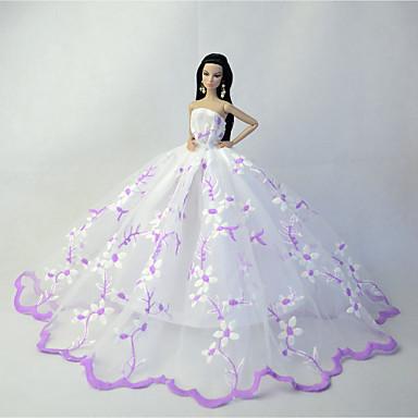 Hochzeit Kostüme Für Barbie-Puppe Kleider Für Mädchen Puppe Spielzeug