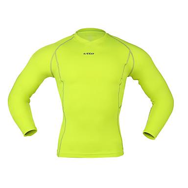 בגדי ריקוד גברים טישרט לריצה ספורט בגדים צמודים / חותלות לבוש אקטיבי דחיסה