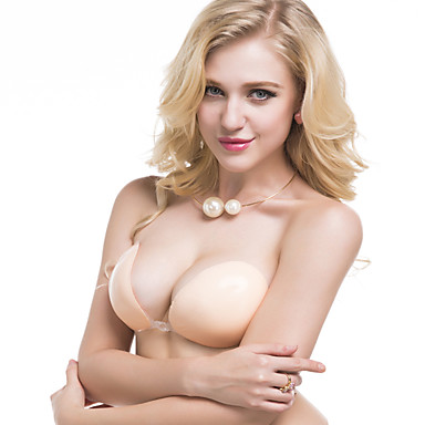 Ganzkörper Brust Unterstützungen BH in Nude Einlegepolster für BHs Knet-Shiatsu Brustvergrößerung Unterstützung Verstellbare Dynamik