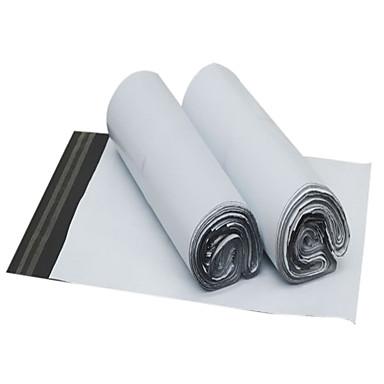 weiß verdickter wasserdichter Logistik Verpackungsbeutel (34 * 46cm, 100 / Paket)