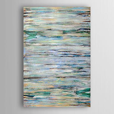 handgemaltes Ölgemälde abstrakten blauen abstrakt mit gestreckten Rahmen 7 Wand ARTS®