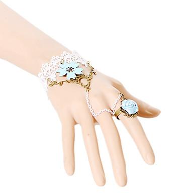 Damen Ring-Armbänder Spitze Weiß Schmuck Für Party Alltag Normal 1 Stück