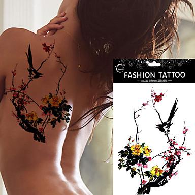 Outros não tóxica Á Prova d'água Feminino Adulto Tatuagem Adesiva Tatuagens temporárias
