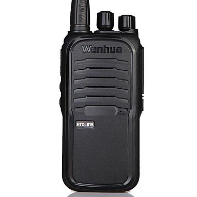 Wanhua Tragbar HTD 815 Sprachansage / Batterie-Warnanzeige / CTCSS/CDCSS 1.5 km -3 km