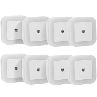 0.5 W לבן טבעי AC חיישן / נטען מנורת לילה 5V V ABS