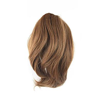 Mit Clip Locken Pferdeschwanz Bärenkralle / Kieferclip Haarstück Haar-Verlängerung 10 Zoll Goldenbraun
