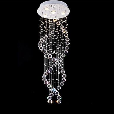 Anheng Lys ,  Moderne / Nutidig galvanisert Trekk for Krystall LED MetallStue Soverom Spisestue Kjøkken Leserom/Kontor Inngang Spillerom