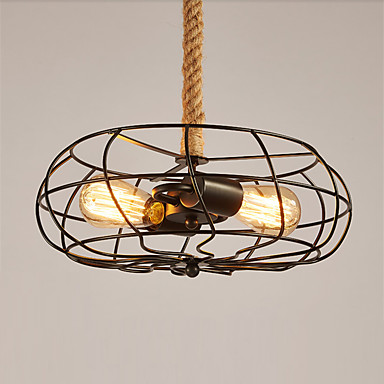 מנורות תלויות ,  וינטאג' צביעה מאפיין for סגנון קטן מתכת חדר שינה חדר אוכל מטבח חדר עבודה / משרד חדר ילדים כניסה חדר משחקים מסדרון מוסך