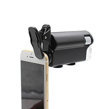 voordelige Microscopen & Endoscopen-Microscoop / Vergrootglazen Horlogereparatie / Sieraden Algemeen / Handheld 60-100X 10mm Normaal Kunststof