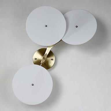 AC 12 6W LED Intégré Moderne/Contemporain Galvanisé Fonctionnalité for Style mini,Vers le Bas Chandeliers muraux Applique murale