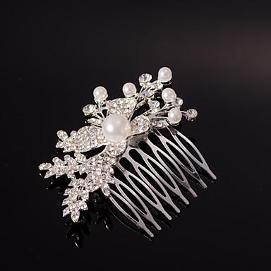 Kristallrhinestone-Legierungshaar kämmt Kopfstückklassikerfrauenart