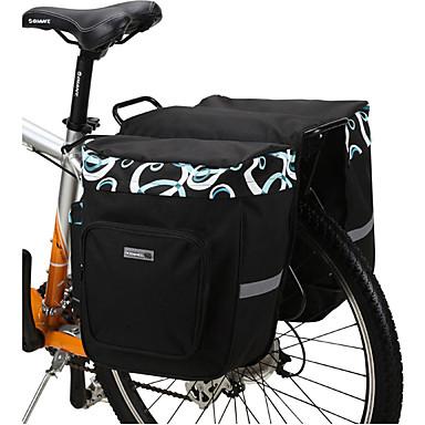 Fahrradtasche 30LFahrrad Kofferraum Tasche/Fahrradtasche Wasserdicht tragbar Stoßfest Tasche für das Rad Maschen Fahrradtasche