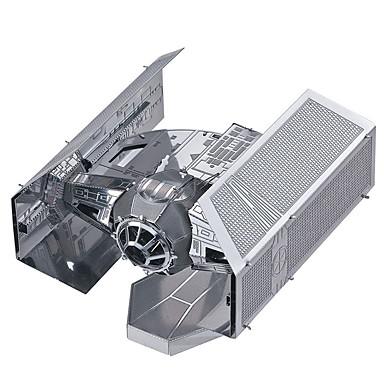 פאזלים3D פאזל פאזלים מתכתיים ערכות לבניית מודלים לוחם 3D Tie Fighter עשה זאת בעצמך מתכת פלדה מתכת יום הולדת חג האהבה קלסי גילאים 8-13