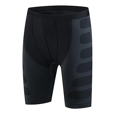 Herre Shorts til jogging Fort Tørring Pustende Shorts Bunner til Trening & Fitness Løp Grå Rød Grønn M L XL