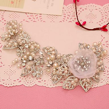 Tüll Künstliche Perle Strass Stirnbänder 1 Hochzeit Besondere Anlässe Kopfschmuck