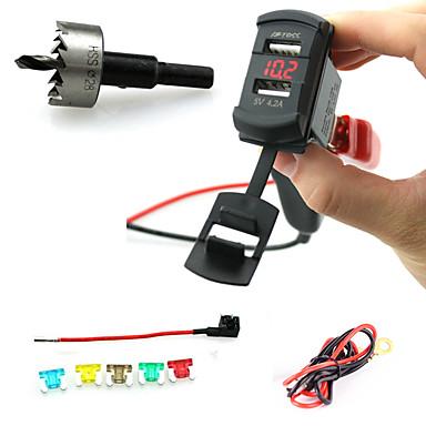 Iztoss Car Charger Socket Plug Rocker Style Dual USB Port with ... on