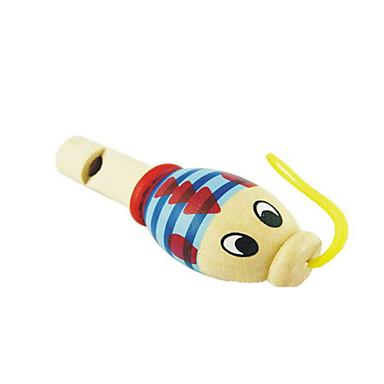 Holz Zufalls Kind Tierpfeife für Kinder über 3 Musikinstrumente Spielzeug gelegentliche Anlieferung