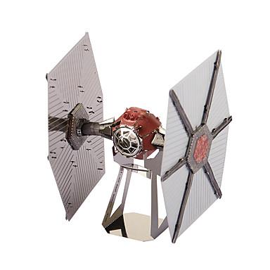voordelige 3D-puzzels-3D-puzzels Metalen puzzels Modelbouwsets Vechter Tie Fighter Noviteit DHZ Metaal Klassiek Speeltjes Geschenk