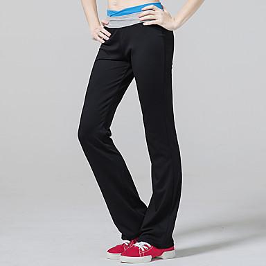 CONNY Mulheres Calças de Corrida - Preto Esportes Calças Roupas Esportivas Respirável, Redutor de Suor