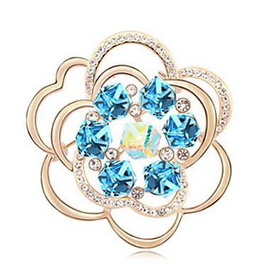 hochwertigen Kristall Blumenbrosche für Hochzeit Partei Dame