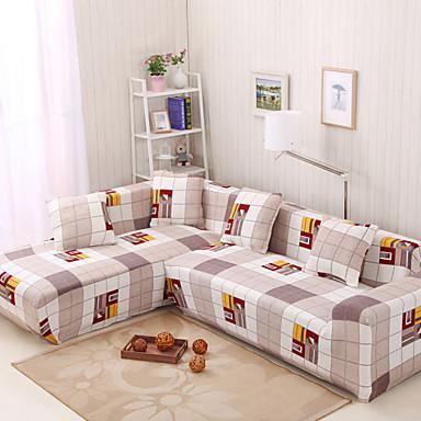 לפי תמונה נמתח מודרני כיסוי ספה , פוליאסטר סוג בד כיסויים