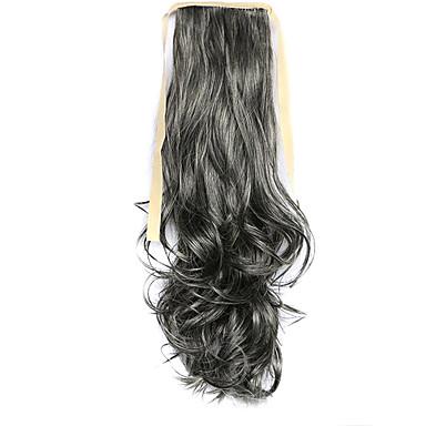 Coletas Pedazo de cabello La extensión del pelo