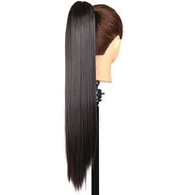 povoljno Perike i ekstenzije-Konjski repići Sintentička kosa Kose za kosu Ugradnja umetaka Ravan kroj Dnevno