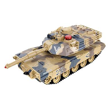 mot tanks foreldre-barn mot infrarød fjernkontroll med turret tank modell lekebil