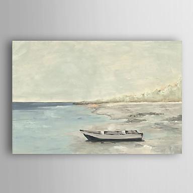 kézzel festett olajfestmény tájkép a tenger nyugalom feszített keret 7 fal arts®