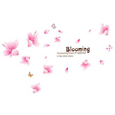 בוטניקה / אנימציה / מילים וציטוטים / רומנטיקה / דוממים / אופנה / פרחים / נופש מדבקות קיר מדבקות קיר מטוס,PVC 70*50*0.1