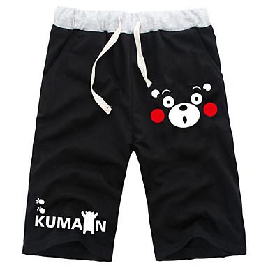קיבל השראה מ Kumamon קוספליי אנימה תחפושות קוספליי חולצות קוספליי / תחתון אחיד מכנסיים קצרים עבור זכר