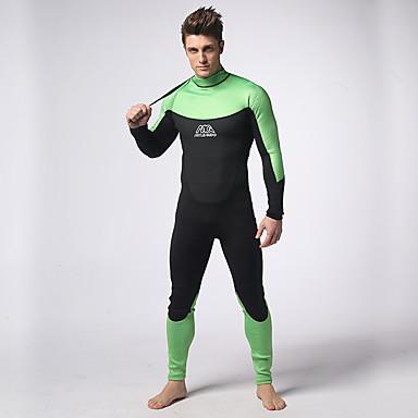 לנשים חליפות רטובות Wetsuits מלא עמיד למים שמור על חום הגוף ייבוש מהיר גוף מלא טאקטל חליפת צלילה שרוול ארוךחליפות צלילה בגדי ים צמרות