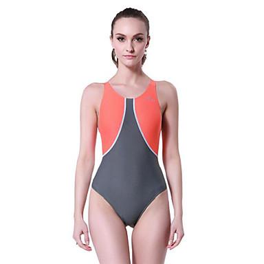 Mulheres roupa de banho Elástico, Compressão Tactel / Elastano Roupa de Praia Roupa de Banho Mergulho / Natação