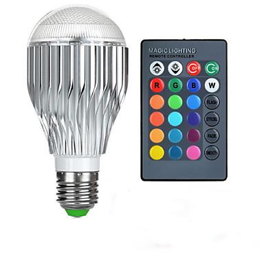 1pc 10 W 750 lm E26 / E27 Bombillas LED Inteligentes 1 Cuentas LED LED de Alta Potencia Control Remoto / Decorativa / Gradiente de Color RGB 85-265 V / 1 pieza / Cañas