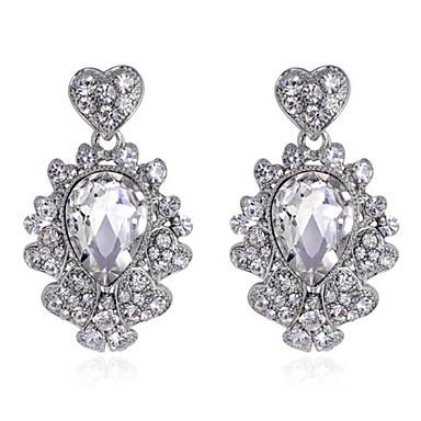 נשים אופנתי אבני חן סינתטיות זירקון זירקוניה מעוקבת סגסוגת תכשיטים עבור חתונה Party