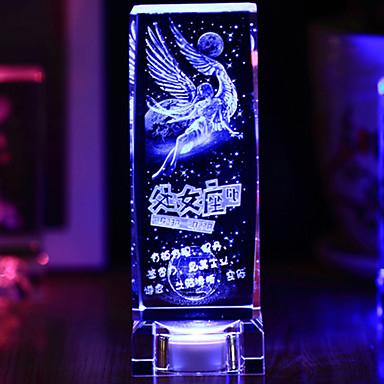 5 W החלפת צבעים USB נטען מנורת לילה AC 220-240 V עור אמיתי