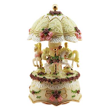 keramikk rosa kreative romantisk musikk boksen for gave