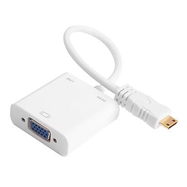 Mini-HDMI mit Audio-dc wiederaufladbare Kabel an VGA-