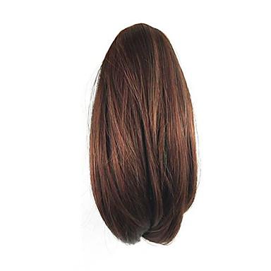Mit Clip Locken Pferdeschwanz Bärenkralle / Kieferclip Haarstück Haar-Verlängerung 10 Zoll Copper Brown