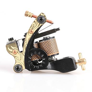 Spiral Tatoveringsmaskin Håndlaget Skygge Støpejern Profesjonell Tattoo Machine
