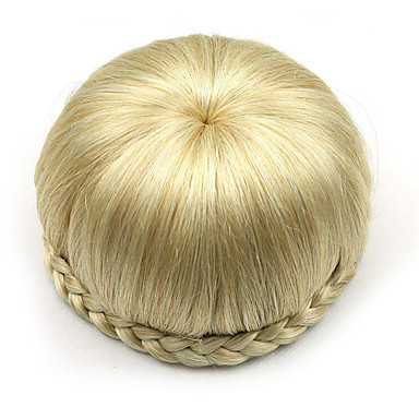 verworrene lockige Gold Europa Braut Perücken menschliches Haar capless Chignons sp-002 1003
