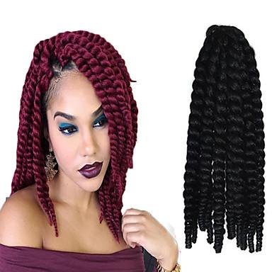 12-24 Zoll Häkeln Geflecht havanna mambo afro Twist Haarverlängerung 2 #